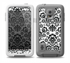 The Black Floral Delicate Pattern Skin for the Samsung Galaxy S5 frē LifeProof Case