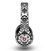 The Black Floral Delicate Pattern Skin for the Original Beats by Dre Studio Headphones
