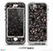 The Black Floral Lace Skin for the iPhone 5-5s NUUD LifeProof Case for the LifeProof Skin