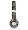 The Black Floral Laced Pattern V2 Skin for the Beats by Dre Solo 2 Headphones