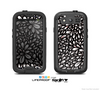 The Black Floral Sprout Skin For The Samsung Galaxy S3 LifeProof Case