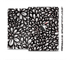 The Black Floral Sprout Skin Set for the Apple iPad Mini 4