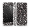 The Black Floral Sprout Skin Set for the Apple iPhone 5