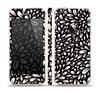 The Black Floral Sprout Skin Set for the Apple iPhone 5s