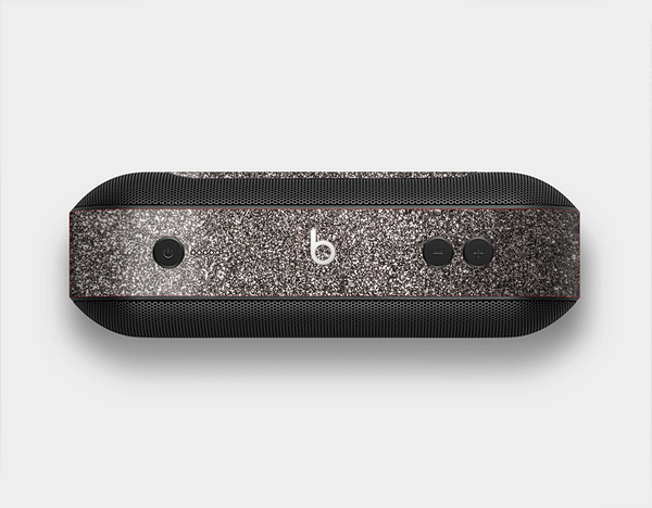 The Black Glitter Ultra Metallic Skin Set for the Beats Pill Plus