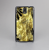The Black & Gold Grunge Leaf Surface Skin-Sert Case for the Samsung Galaxy Note 3