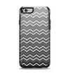 The Black Gradient Layered Chevron Apple iPhone 6 Otterbox Symmetry Case Skin Set