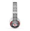 The Black Gradient Layered Chevron Skin for the Beats by Dre Studio (2013+ Version) Headphones