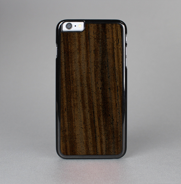 The Black Grained Walnut Wood Skin-Sert Case for the Apple iPhone 6 Plus