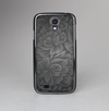 The Black & Gray Dark Lace Floral Skin-Sert Case for the Samsung Galaxy S4
