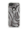 The Black & Gray Monochrome Pattern Apple iPhone 5-5s Otterbox Commuter Case Skin Set