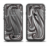 The Black & Gray Monochrome Pattern Apple iPhone 6/6s Plus LifeProof Fre Case Skin Set