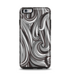 The Black & Gray Monochrome Pattern Apple iPhone 6 Plus Otterbox Symmetry Case Skin Set