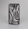 The Black & Gray Monochrome Pattern Skin-Sert Case for the Samsung Galaxy Note 3