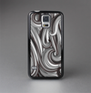 The Black & Gray Monochrome Pattern Skin-Sert Case for the Samsung Galaxy S5