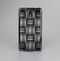 The Black & Gray Woven HD Pattern Skin-Sert Case for the Samsung Galaxy Note 3