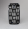 The Black & Gray Woven HD Pattern Skin-Sert Case for the Samsung Galaxy S4