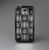 The Black & Gray Woven HD Pattern Skin-Sert Case for the Samsung Galaxy S5