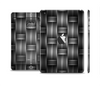 The Black & Gray Woven HD Pattern Skin Set for the Apple iPad Mini 4