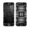 The Black & Gray Woven HD Pattern Skin for the Apple iPhone 5s