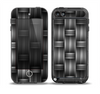 The Black & Gray Woven HD Pattern Skin for the iPod Touch 5th Generation frē LifeProof Case