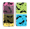 The Black High-Heel Pattern V12 Skin for the Apple iPhone 5c