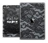 The Black Lace V2 Skin for the iPad Air