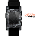 The Black Lace texture Skin for the Pebble SmartWatch