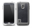 The Black Leather Skin for the Samsung Galaxy S5 frē LifeProof Case