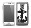 The Black Nautical Anchor Skin for the Samsung Galaxy S5 frē LifeProof Case