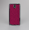 The Black & Pink Sharp Chevron Pattern Skin-Sert Case for the Samsung Galaxy Note 3