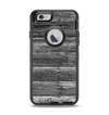 The Black Planks of Wood Apple iPhone 6 Otterbox Defender Case Skin Set