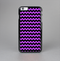 The Black & Purple Chevron Pattern Skin-Sert for the Apple iPhone 6 Skin-Sert Case