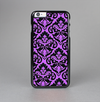 The Black & Purple Delicate Pattern Skin-Sert Case for the Apple iPhone 6 Plus