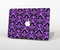 The Black & Purple Delicate Pattern Skin Set for the Apple MacBook Air 11""