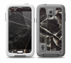 The Black Torn Woven Texture Skin for the Samsung Galaxy S5 frē LifeProof Case
