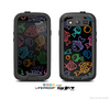 The Black & Vector Color-FIsh Skin For The Samsung Galaxy S3 LifeProof Case