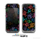 The Black Vector Color-Fish Skin for the Apple iPhone 5c LifeProof Case