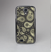 The Black & Vintage Green Paisley Skin-Sert Case for the Samsung Galaxy S4
