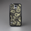 The Black & Vintage Green Paisley Skin-Sert Case for the Samsung Galaxy S5