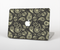 The Black & Vintage Green Paisley Skin Set for the Apple MacBook Air 11""