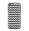 The Black & White Chevron Pattern Apple iPhone 6 Plus Otterbox Symmetry Case Skin Set