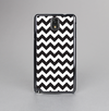 The Black & White Chevron Pattern Skin-Sert Case for the Samsung Galaxy Note 3