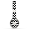 The Black & White Chevron Pattern V2 Skin for the Beats by Dre Solo 2 Headphones