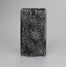 The Black & White Floral Lace Skin-Sert Case for the Samsung Galaxy Note 3
