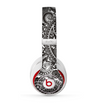 The Black & White Pasiley Pattern Skin for the Beats by Dre Studio (2013+ Version) Headphones