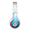 The Black and Blue Highlighted HD Wave Skin for the Beats by Dre Studio (2013+ Version) Headphones