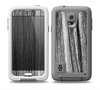 The Black and Grey Frizzy Texture Skin for the Samsung Galaxy S5 frē LifeProof Case