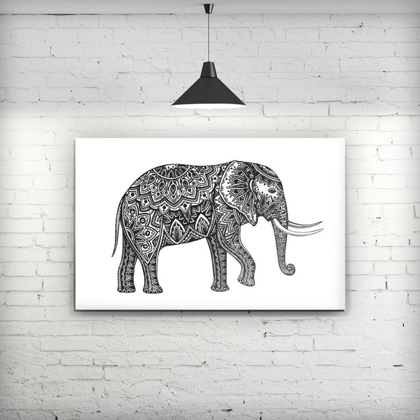 Black_and_White_Aztec_Ethnic_Elephant_Stretched_Wall_Canvas_Print_V2.jpg