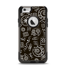The Black and White Cave Symbols Apple iPhone 6 Otterbox Commuter Case Skin Set
